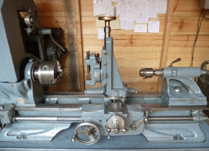 Atlas 10 Lathe With Vertical Slide Milling Attachment